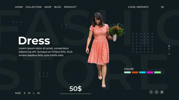 Videohive Fashion Store 23248084