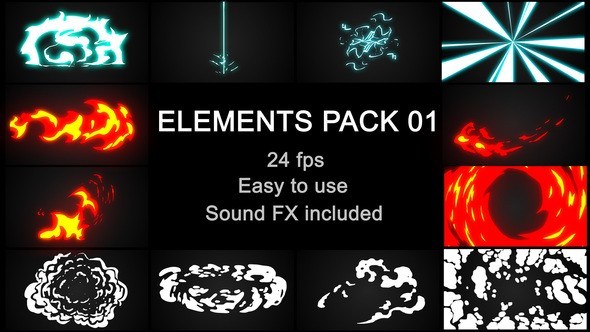 ideohive Flash FX Elements Pack 01 23211134