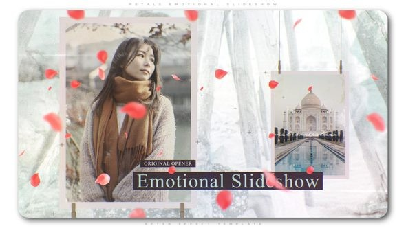 Videohive Petals Emotional Slideshow 23101149