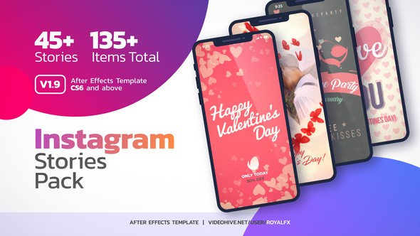 Videohive Instagram Stories V1.9 22331306