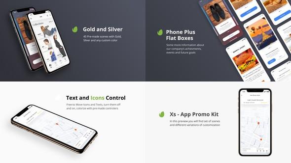 Videohive Xs - App Presentation Kit 22846892