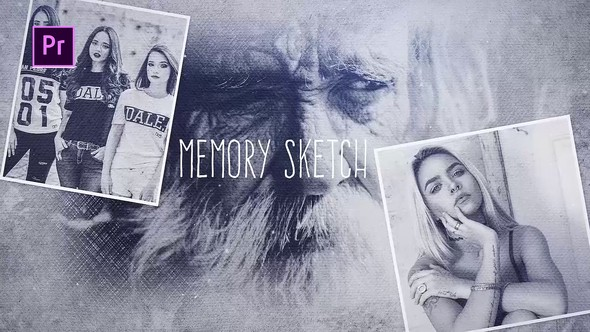 Videohive Memory Sketch 23263131