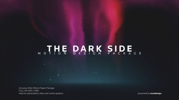 Videohive The Dark Side Titles 22371838