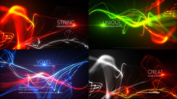 Videohive String Titles 22995595
