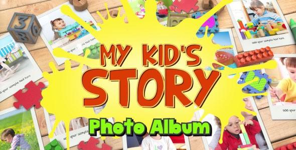 Videohive Kid's Photo Album 12073650