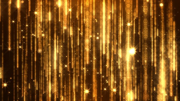 Videohive Golden Particles 23309907