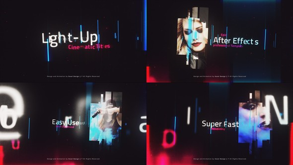 Videohive LightUP - Cinematic Titles 23313733