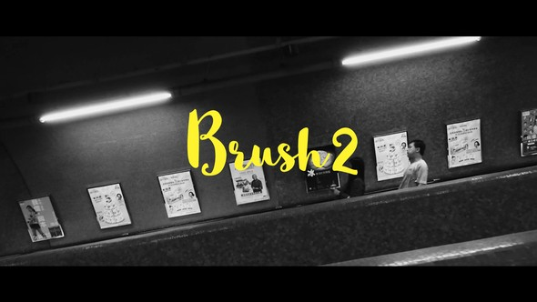 Videohive Brush 2-Animated Handwritten Typefaces 22632069