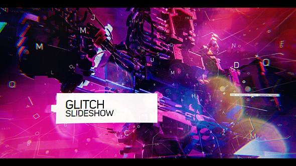 Videohive Glitch Slideshow 20424969