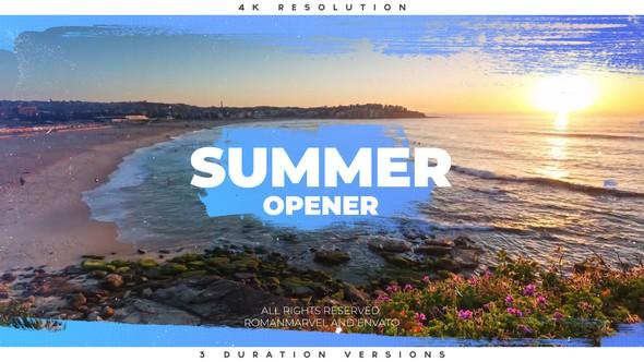 Videohive Summer Opener 22177202