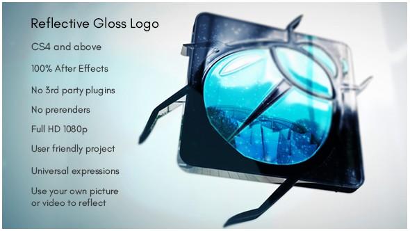 Videohive Reflective Gloss Logo 15550440