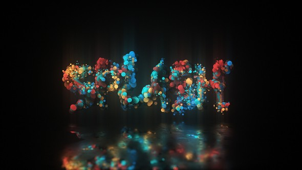 Videohive Glow Particle Logo 22939209