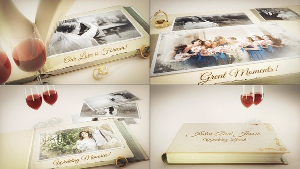 Videohive Our Wedding Story 23337575