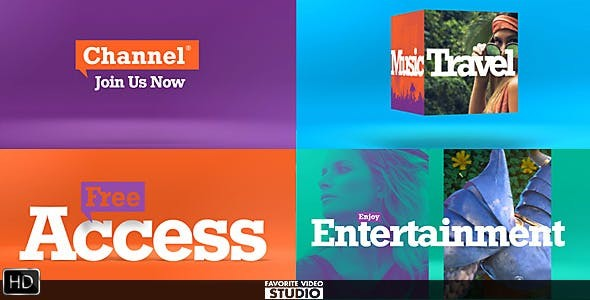 Videohive Colorful Broadcast Pack 19996210