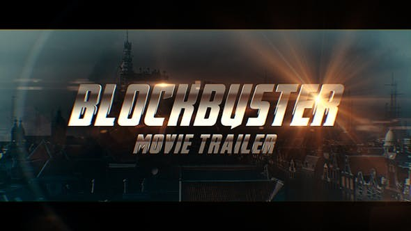 Videohive Blockbuster Movie Trailer 23126306