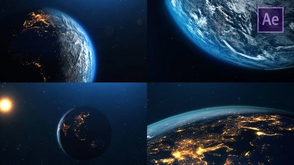 Videohive Planet Earth 23344857