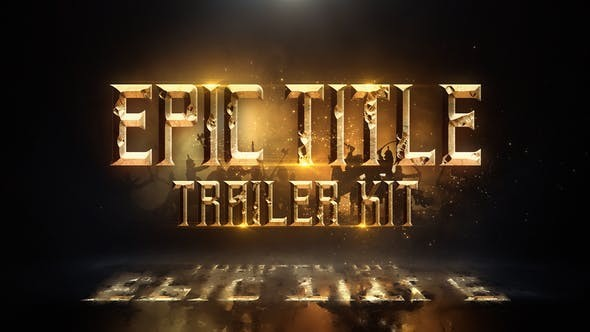 Videohive Epic Title Trailer Kit 23312565
