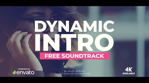 Videohive Dynamic Intro 21369285 (Inc Sound)