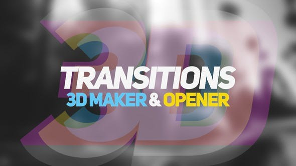 VideoHive 3D Transitions 3D Maker & Opener 22833775