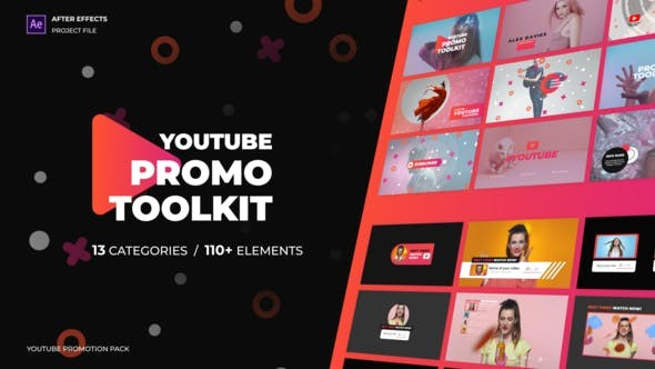Videohive Modern Youtube Promo Toolkit V.2  22991178 (Update 7 December 18)