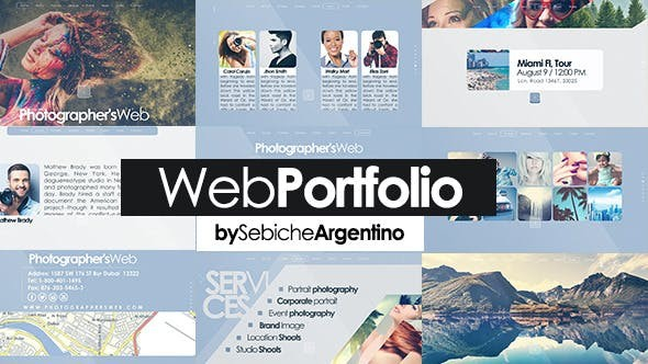 Videohive Web Portfolio 11848687
