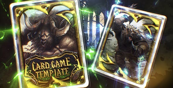 Videohive Card Game Trailer 19575131