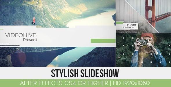 Videohive Stylish Slideshow 13000507