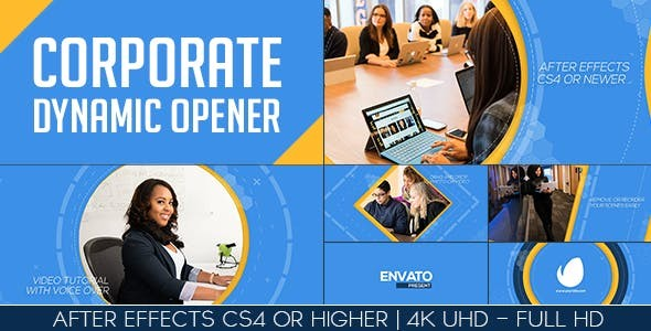 Videohive Corporate Dynamic Opener 18702230
