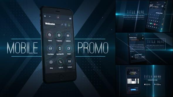 Videohive Mobile Application Promo 19182521
