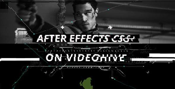 Videohive Glitch Opener 21382223