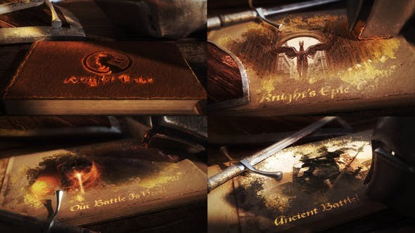 Videohive Ancient Battle Book 23359741