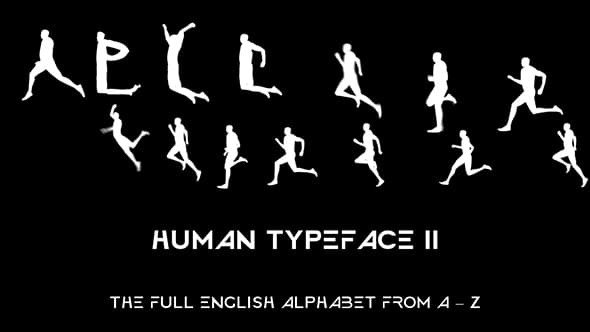 Videohive Human Typeface II 20033382