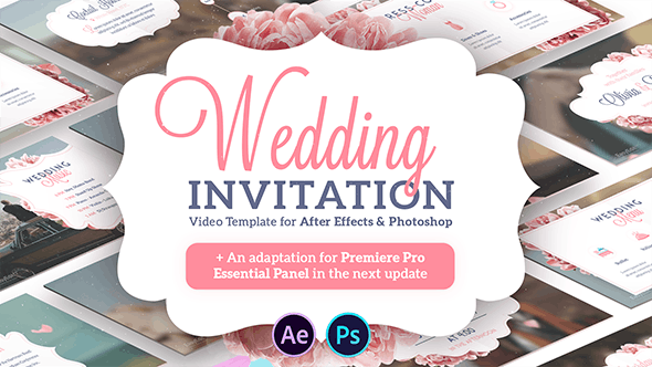 Videohive Wedding Invitation 21072561