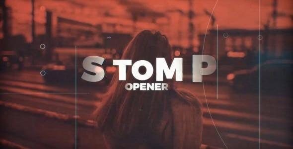 Videohive Grunge Stomp 20985253