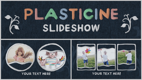 Videohive Plasticine Slideshow 7384182
