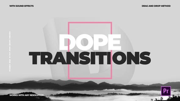 Videohive Dope Transitions | For Premiere Pro 23178664