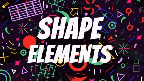 Videohive Shape Elements 7826596