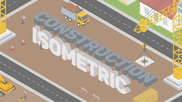 Videohive Construction Isometric 22296954