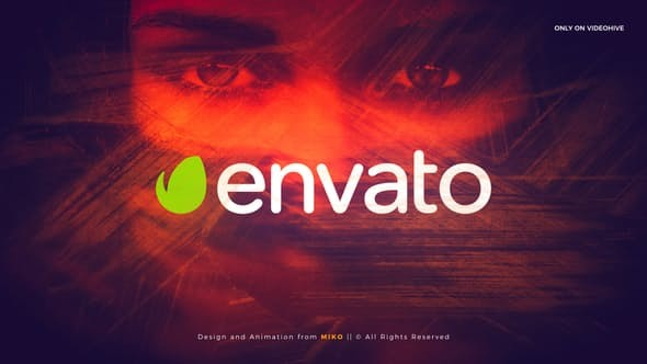 Videohive Brush Intro Logo 22659753