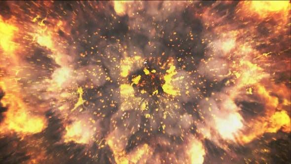 Videohive Fire Drop Logo 15003894