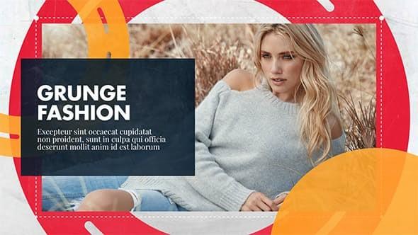 Videohive Grunge Fashionable - Promo 20938540