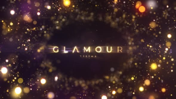 Videohive Glamour Titles 23320629