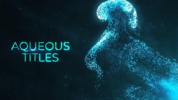 Videohive Aqueous Titles 23178683