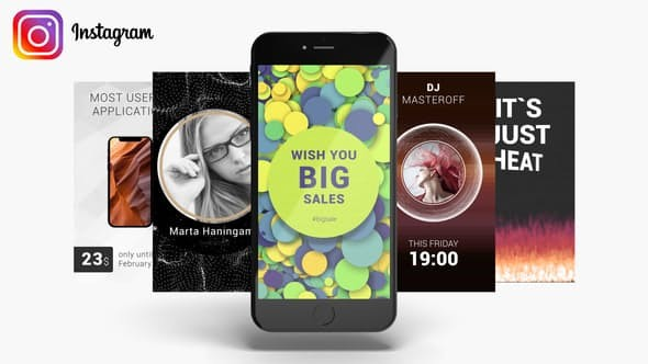 Videohive Instagram Stories Pack 22631376
