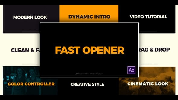 Videohive Clean Fast Opener 23346033