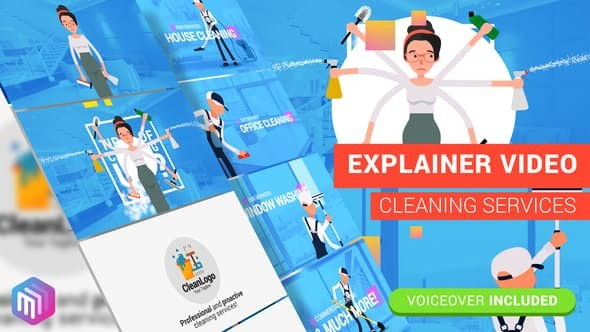 Videohive Edit Explainer Video | Cleaning Services 21879256