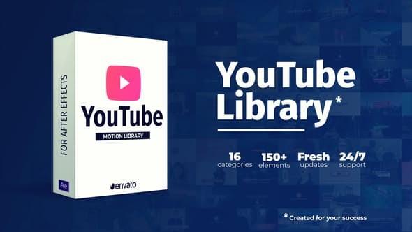 Videohive Youtube Library 22658349