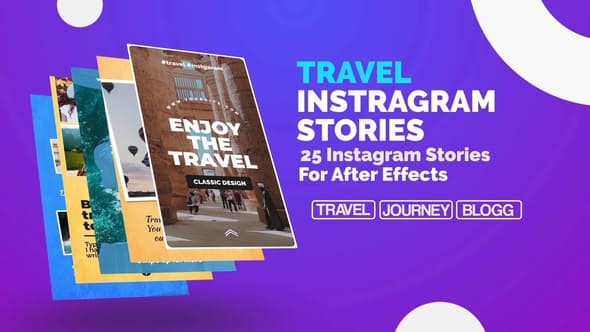 Videohive Travel Instagram Stories 23150027