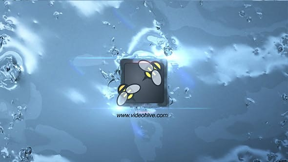Videohive Water Splash Logo 11713332