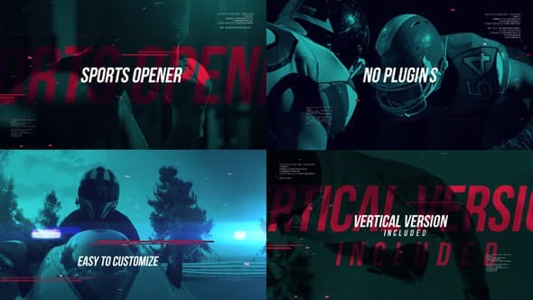 Videohive Dynamic Sports Reel 23263742